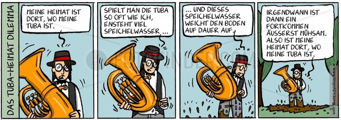 Das Tuba-Heimat-Dilemma