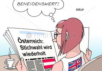Oesterreich Stichwahl Wiederholung Grossbritannien Brexit