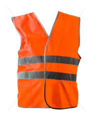 Orange construction jacket