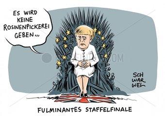 Brexit : Merkel gibt die Eiserne Kanzlerin