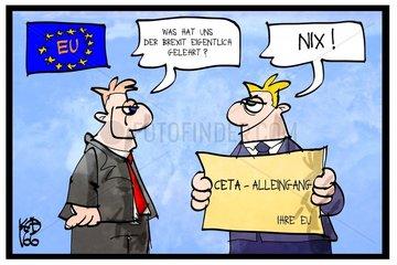 CETA-Alleingang