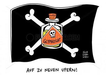 Glyphosat : EU verlaengert Frist fuer Einsatz von Unkrautvernichtungsmittel