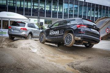 IAA 2017  Gelaendewagen-Teststrecke