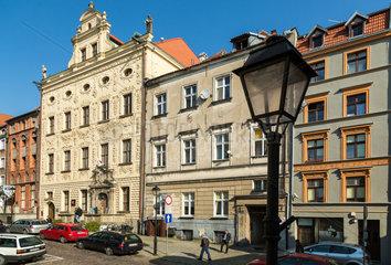 Thorn  Polen  Haeuser in der Altstadt