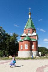 Tiraspol  Republik Moldau  die russisch-orthodoxen Herz-Jesus-Kirche