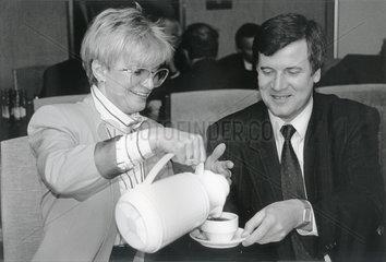 Gerda Hasselfeldt  Horst Seehofer  1988
