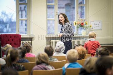 Katarina Barley liest bei Berliner Maerchentage