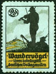 Wandervoegel  Wehrschatzmarke  1927