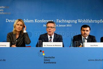 Berlin  Deutschland  Fachtagung Wohlfahrtspflege der Deutschen Islam Konferenz