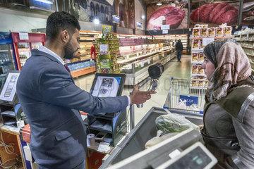 Iris-Scan im Sameh Market