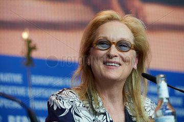 Berlin  Deutschland  Schauspielerin Meryl Streep auf der Berlinale