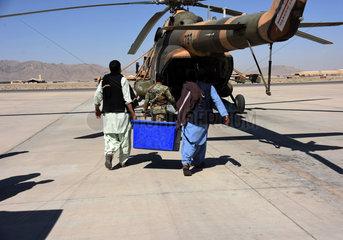 AFGHANISTAN-KANDAHAR-ELECTION MATERIALS
