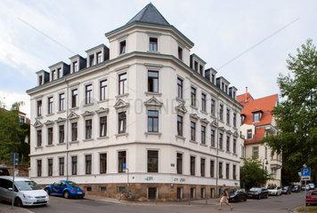 Dresden  Deutschland  Wohnhaeuser in der Priessnitzstrasse Ecke Nordstrasse