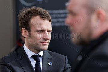 Berlin  Deutschland  Emmanuel Macron  PS  franzoesischer Wirtschaftsminister