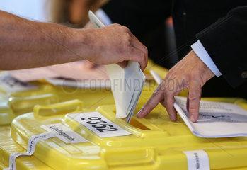 GERMANY-NUERNBERG-BAVARIA-ELECTION
