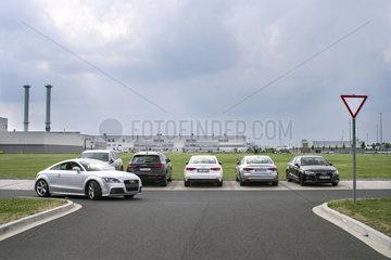 Audi Fahrzeug- und Motorenwerk in Gyor  Ungarn