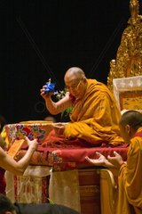 The 14th DALAI LAMA of Tibet blessed Buddhist objects sponsored by the TIBETAN MONGOLIAN CULTURAL CENTER