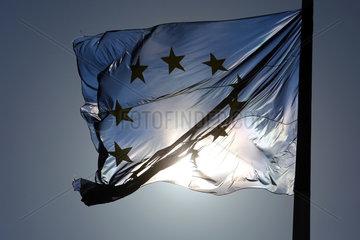Berlin  Deutschland  Europaflagge