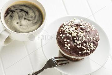 Tasty chocolate muffins.