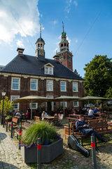 Leer  Deutschland  Restaurant zur Waage und Boerse am Handelshafen von Leer