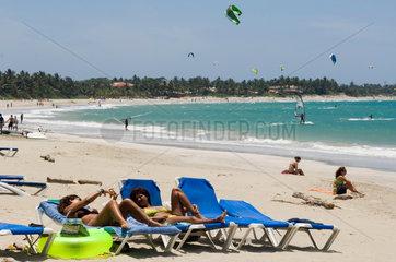 Cabarete  Dominikanische Republik  Strand von Cabarete