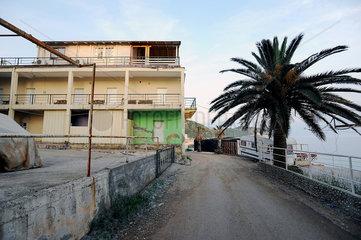 Dhermi  Albanien  Abendstimmung am Strand