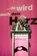 DResden  Deutschland  John Agyekum Kufuor auf dem 33. Evangelischen Kirchentag