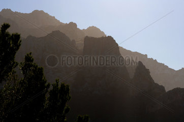 Escorca  Spanien  Berge des Tramuntana-Gebirges