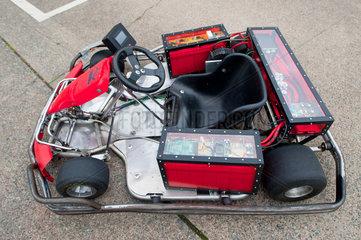 Berlin  Deutschland  ein Go-Kart mit Elektromotor