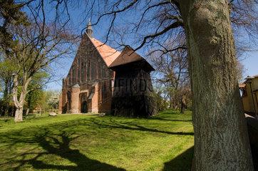 Wiek  Deutschland  die evangelische Pfarrkirche St. Georg zu Wiek