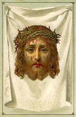 Schweisstuch der Heiligen Veronika  1910