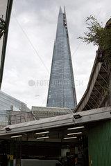 London  Grossbritannien  Blick auf The Shard