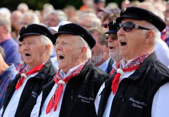 Dinslaken  Deutschland  SING DAY OF SONG  groesster Shantychor des Ruhrgebietes
