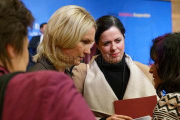Berlin  Deutschland  Bundesfamilienministerin Manuela Schwesig  SPD