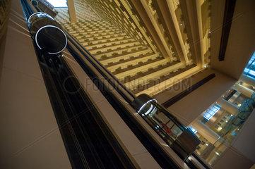 Singapur  Republik Singapur  das Atrium des Pan Pacific Hotels