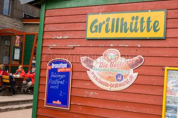 Brotterode  Deutschland  Gaststaette auf dem Grossen Inselsberg
