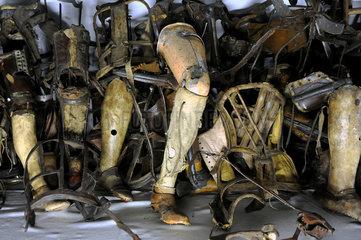 Auschwitz  Polen  Museum des Konzentrationslager Auschwitz-Birkenau