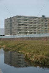 Berlin  Deutschland  Blick auf die zukuenftige BND-Zentrale