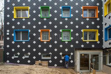 Berlin  Deutschland  energetische Sanierung einer Kita