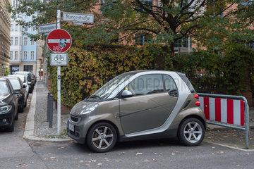 Berlin  Deutschland  Parkplatzprobleme in der Innenstadt