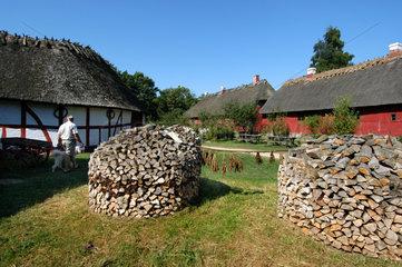 Ottensee  Daenemark  das Freilichtmuseum Den Fynske Landsby