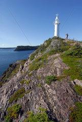Kings Cove  Kanada  der Kings-Cove-Leuchtturm