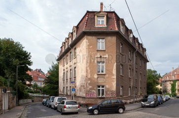 Dresden  Deutschland  Wohnhaeuser in der Bischofswerder Strasse