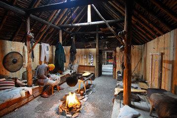 L'Anse aux Meadows  Kanada  Rekonstruktion der Wikingersiedlung