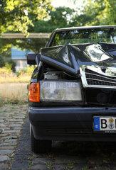 Berlin  Deutschland  Unfallwagen