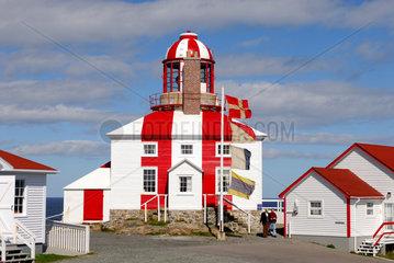 Bonavista  Kanada  der Leuchtturm am Cape Bonavista