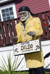 Dildo  Kanada  Captain Dildo  das Maskottchen der Stadt