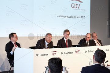 Berlin  Deutschland  Jahrespressekonferenz des GDV