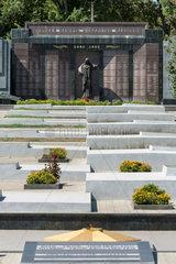 Tiraspol  Republik Moldau  Gedenktafel am Helden-Gedenkplatz