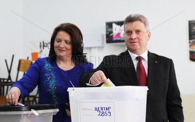 MACEDONIA-SKOPJE-PRESIDENTIAL-PARLIAMENTARY-ELECTION